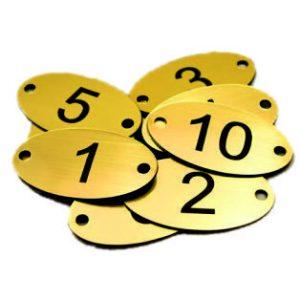 Čísla na dvere
